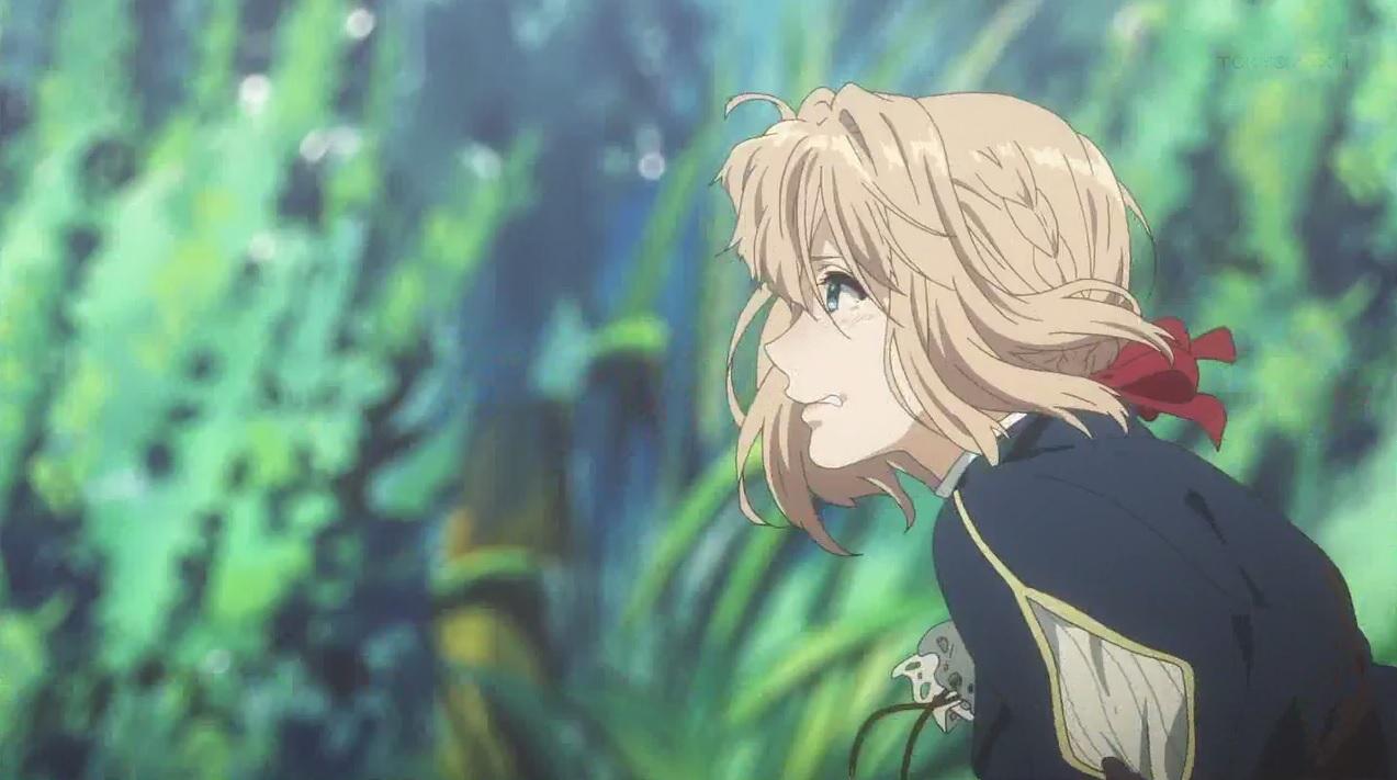 ヴァイオレット・エヴァーガーデン【感想】 第七話 「        」