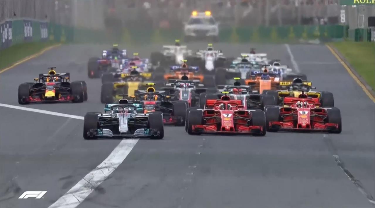 F1「2018年オーストラリア・グランプリ」決勝戦観ました!【DAZN】