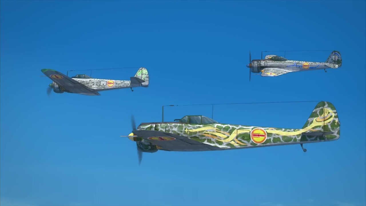 『荒野のコトブキ飛行隊』第2話「さすらいの6人」隼